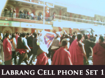 Labrang Protest Cell Phone