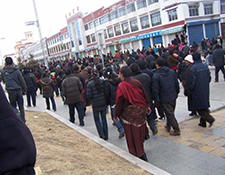 Machu, Amdo Tibet March 16th Protest