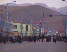 Protest in Machu, Amdo Tibet