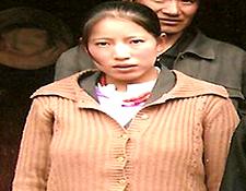 Tseyang Kyi, 23, Tsar Ngoe Village